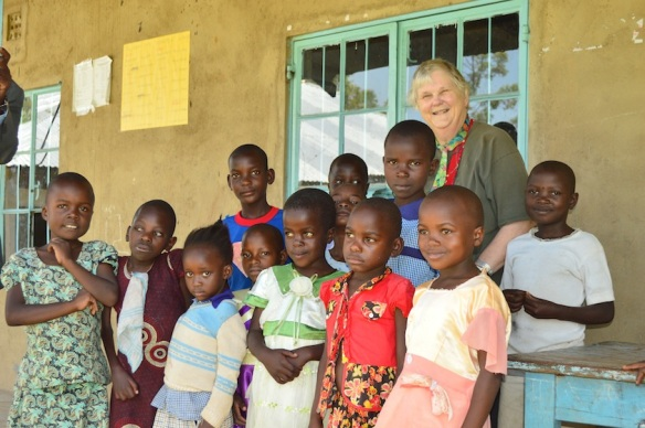 Pupils at the Mwikhomo school for the hearing impaired, Kakamega