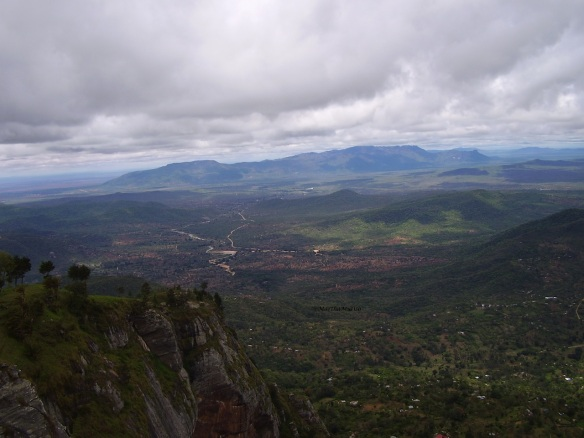 View of Taita environs from Mwachora Hill